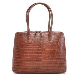 Berba Bags & Wallets Leren Businesstas Laguna cognac