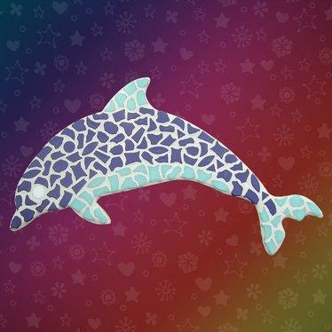 Cristallo Dolfijn Mozaiek pakket