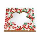 Cristallo Mozaiek pakket Spiegel Bloem Kerst