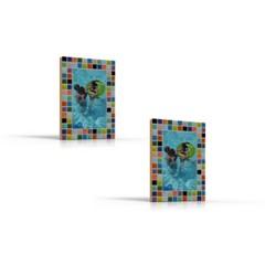 Cristallo Mozaiek pakket set/2 Fotolijstjes