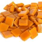 Cristallo Glas mozaiek steentjes 1x1 cm ca. 200 stuks Oranje
