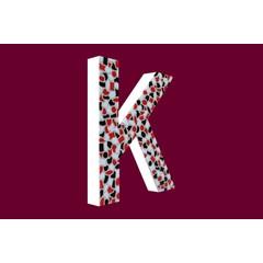 Cristallo Design Stoer, Letter K