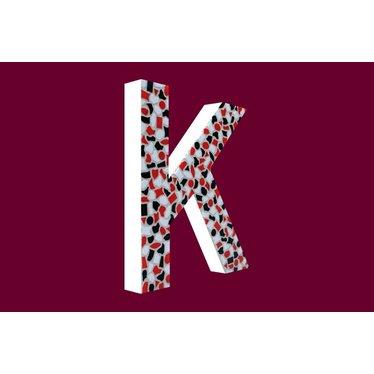 Cristallo Mozaiek pakket Letter K Stoer