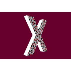 Cristallo Design Stoer, Letter X