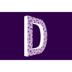 Cristallo Design Zacht, Letter D