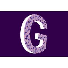 Cristallo Design Zacht, Letter G