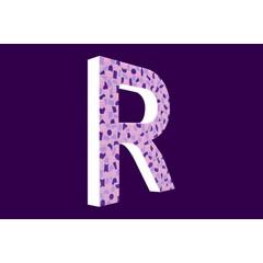 Cristallo Design Zacht, Letter R