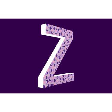 Cristallo Mozaiek pakket Letter Z Zacht