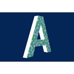 Cristallo Design Fris, Letter A