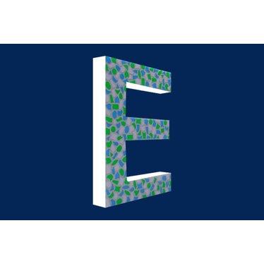 Cristallo Mozaiek pakket Letter E Fris