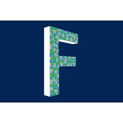 Cristallo Design Fris, Letter F