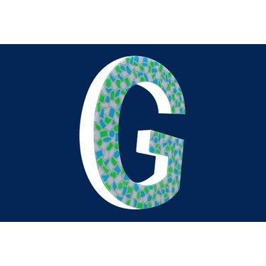 Cristallo Mozaiek pakket Letter G Fris