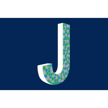 Cristallo Mozaiek pakket Letter J Fris