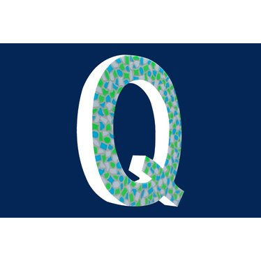 Cristallo Mozaiek pakket Letter Q Fris