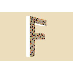 Cristallo Design Warm, Letter F