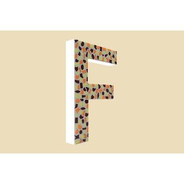 Cristallo Mozaiek pakket Letter F Warm