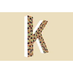 Cristallo Design Warm, Letter K