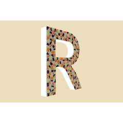 Cristallo Design Warm, Letter R