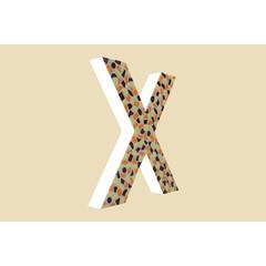Cristallo Design Warm, Letter X