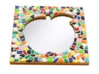 Mozaiek pakketten spiegels Appel