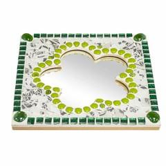 Cristallo Mozaiek pakket Spiegel Bloem Tireno Groen