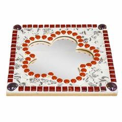 Cristallo Mozaiek pakket Spiegel Bloem Tireno Rood