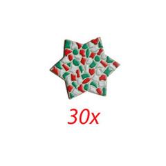 Cristallo STER 30 stuks mozaiekpakket KERST