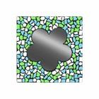 Cristallo Mozaiek pakket Spiegel Bloem Wit-Lichtblauw-Lichtgroen PREMIUM