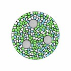 Cristallo Mozaiek pakket Waxinelichthouder Wit-Lichtblauw-Lichtgroen PREMIUM