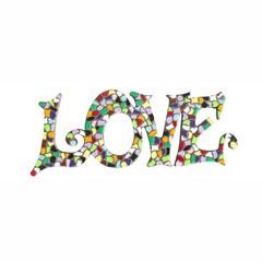Cristallo Mozaiek pakket LOVE Premium