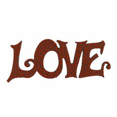 Cristallo Mozaiek pakket LOVE Bruin Premium