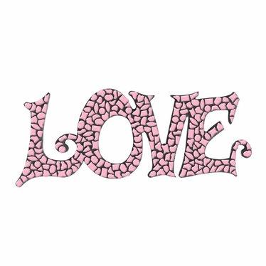 Cristallo LOVE Roze Mozaiek pakket PREMIUM