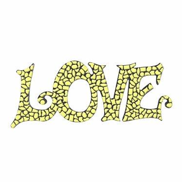 Cristallo LOVE Geel Mozaiek pakket PREMIUM