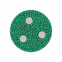 Cristallo Mozaiek pakket Waxinelichthouder Uni Donkergroen PREMIUM