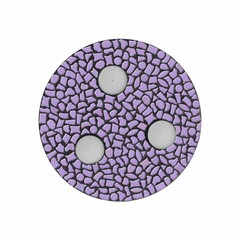 Cristallo Mozaiek pakket Waxinelichthouder Uni Violet PREMIUM