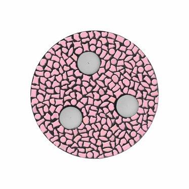 Cristallo Waxinelichthouder Uni Rose Mozaiek pakket PREMIUM