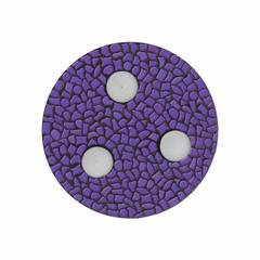 Cristallo Mozaiek pakket Waxinelichthouder Uni Paars PREMIUM