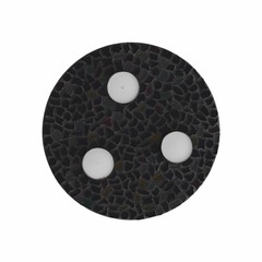 Cristallo Mozaiek pakket Waxinelichthouder Uni Zwart PREMIUM