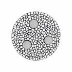 Cristallo Mozaiek pakket Waxinelichthouder Uni Wit PREMIUM