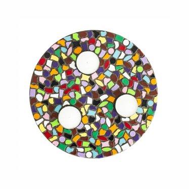 Cristallo Waxinelichthouder Mozaiek pakket PREMIUM