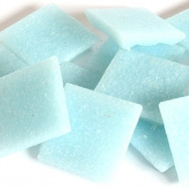 Cristallo Mozaieksteentjes 2 x 2 cm 75 stuks Lichtblauw