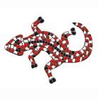 Cristallo Mozaiek pakket Gekko Rood-Bruin-Wit
