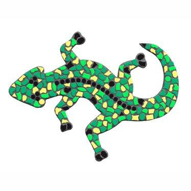 Cristallo Gekko Mozaiek pakket Lichtgroen-Donkergroen-Geel