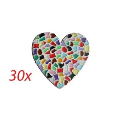 Cristallo HART 30 stuks Mozaiek pakket
