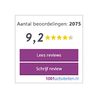 Klantreviews 1001activiteiten.nl