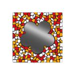 Mozaiekpakket Spiegel Bloem