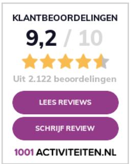 Reviews 1001activiteiten.nl