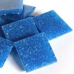Cristallo Mozaieksteentjes 2 x 2 cm 75 stuks Blauw