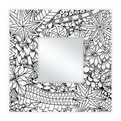 Spiegel Vierkant 35 x 35 cm Holymoly