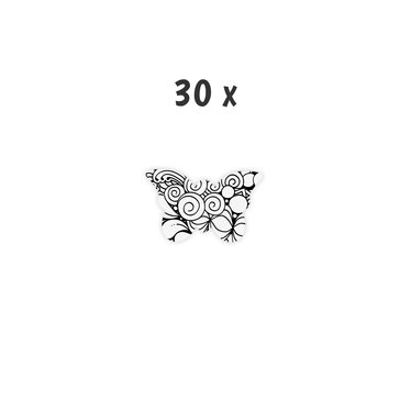 Schoolpakket 30 x Vlinder 6-8 jaar Blossom